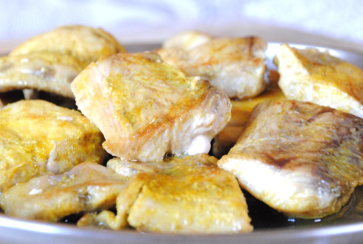 Fish mapas pan fried