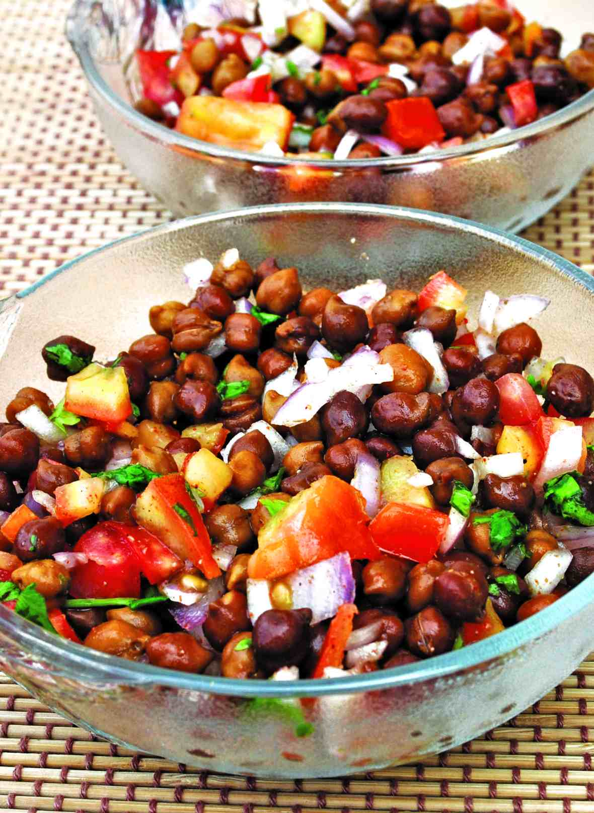 masala channa chaat