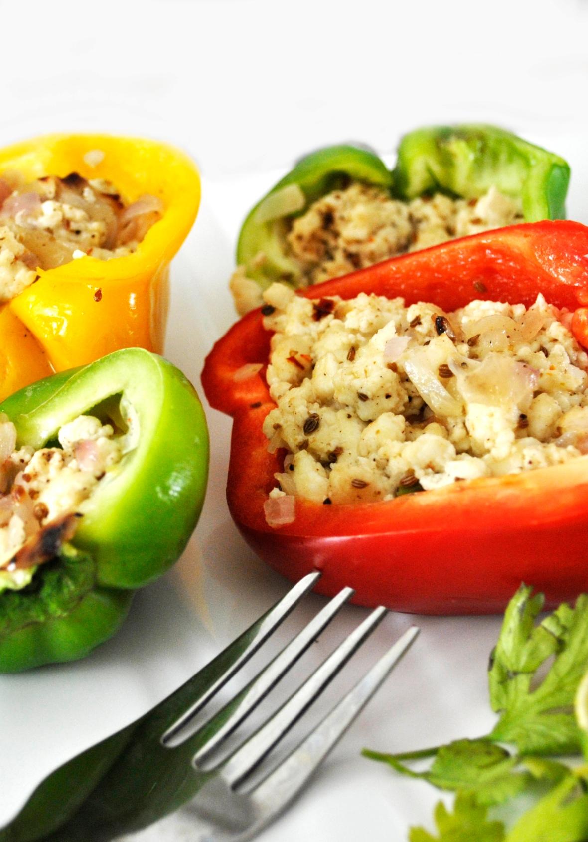 Stuffed bell pepper 1