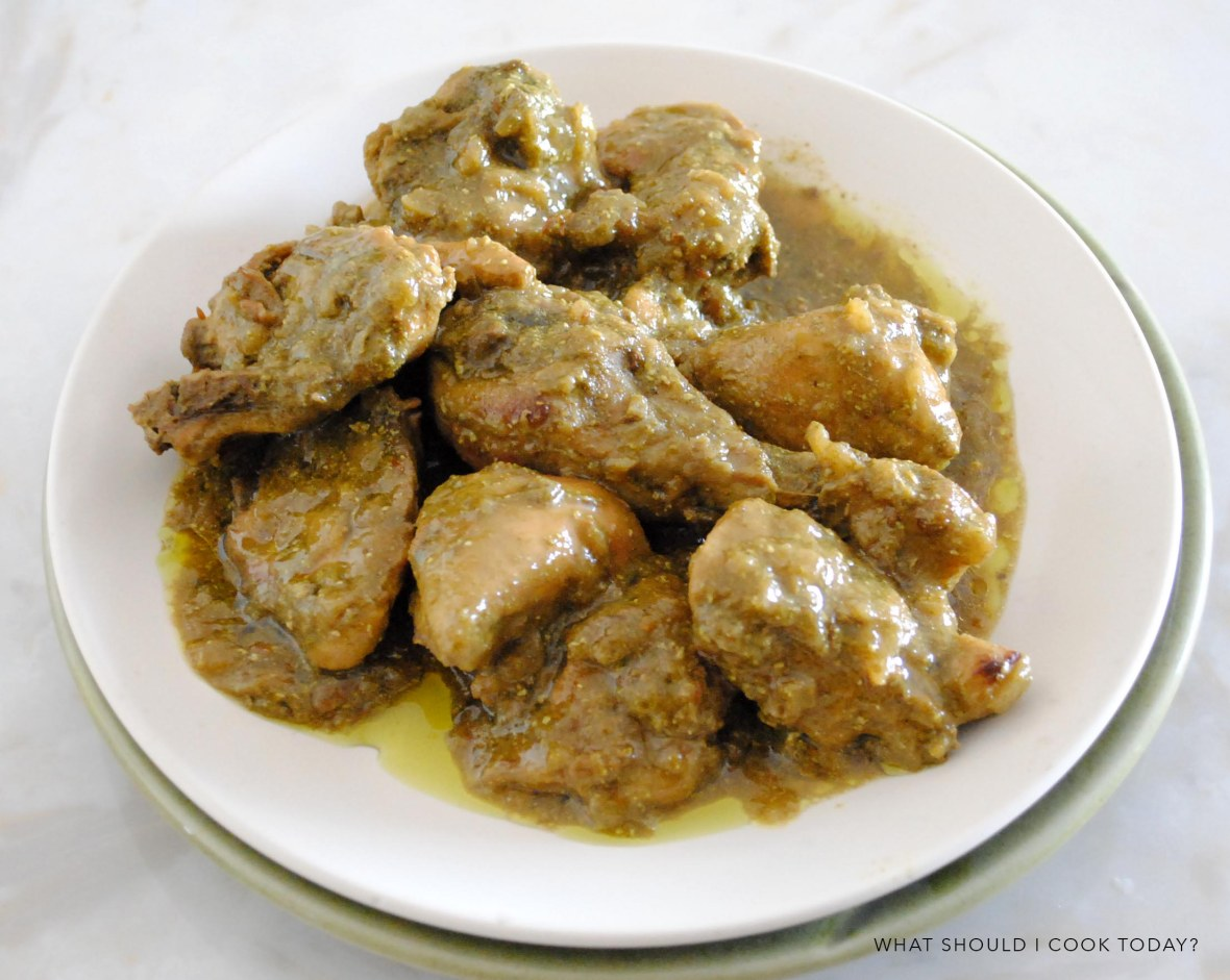 dhania-chicken
