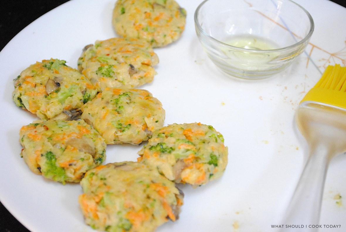brocoli and mushroom bites -5
