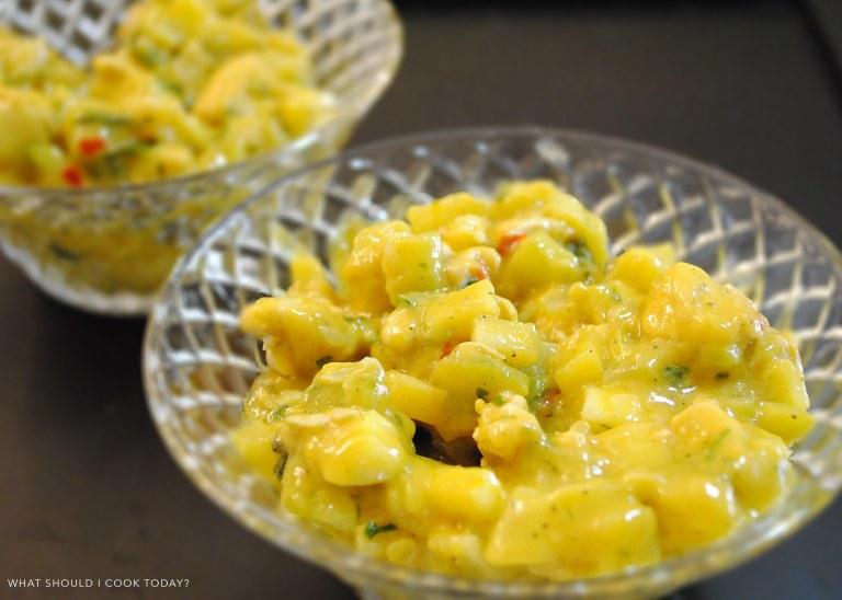 chicken zuchini salad