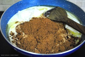 choco cake 1