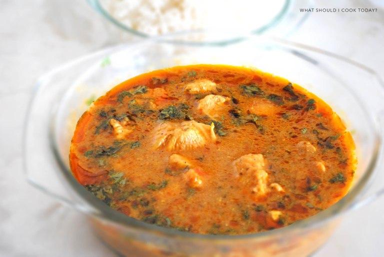 yoghurt chicken curry 2