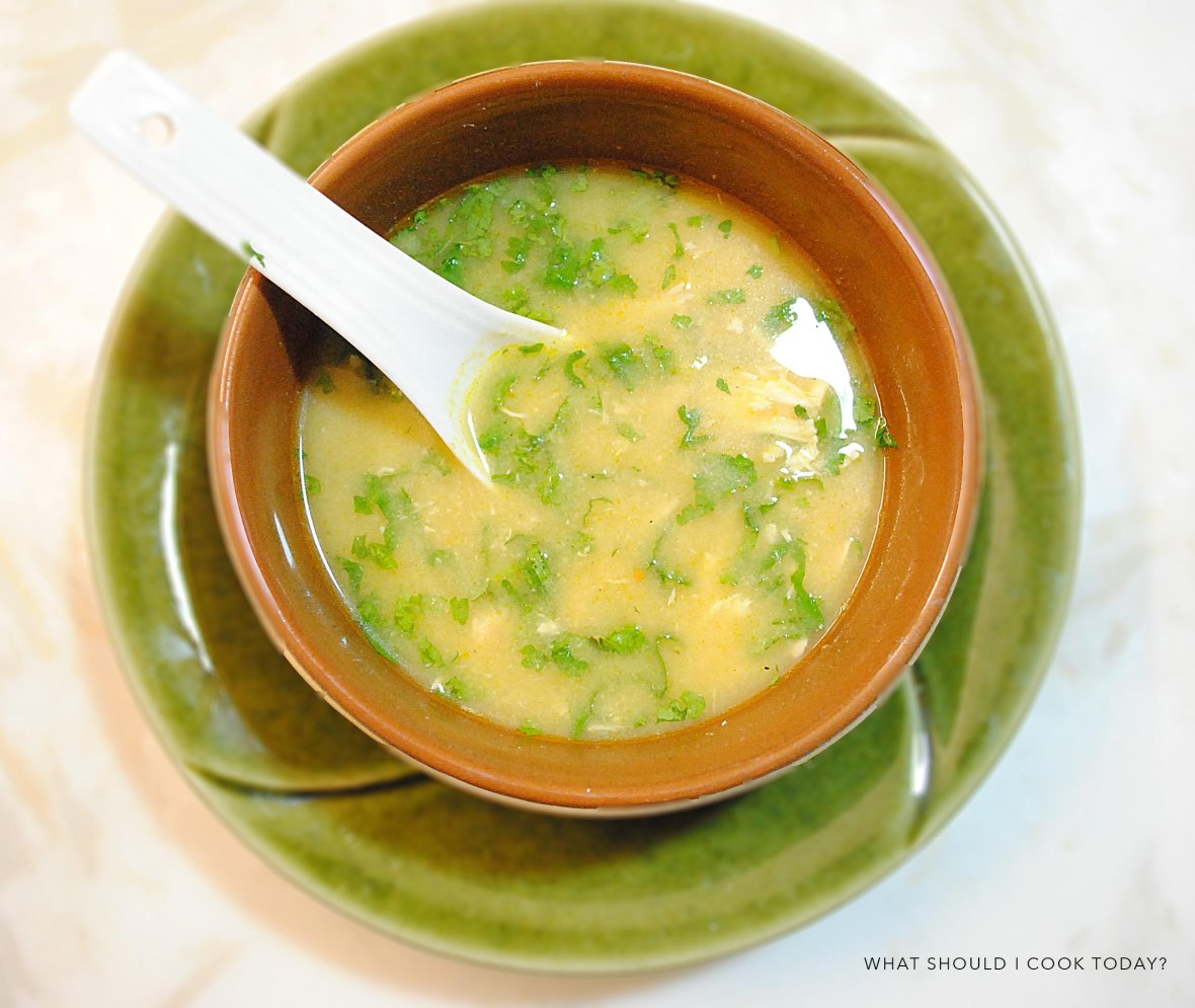 chicken and coriander soup 5