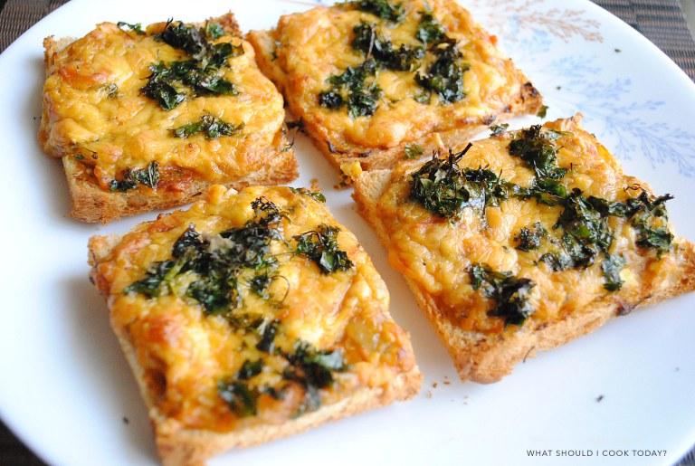 pav bhaji toast 2