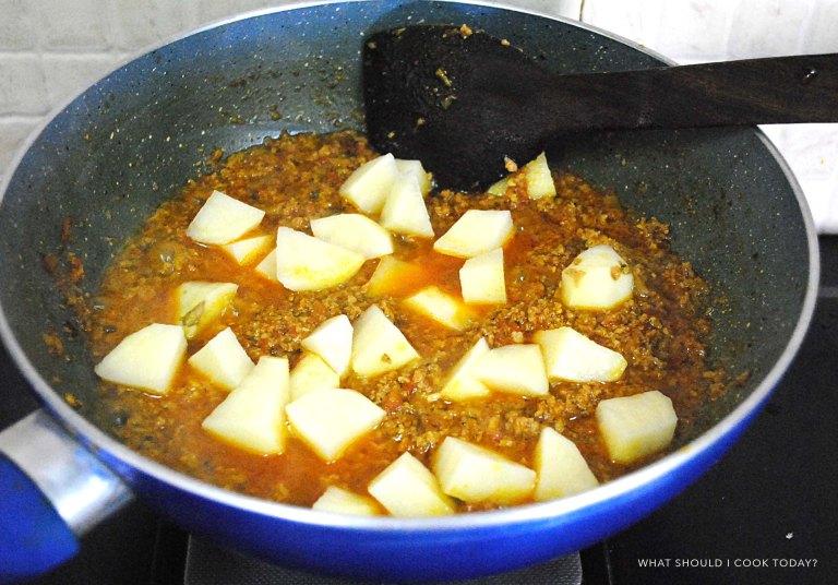keema potato 10