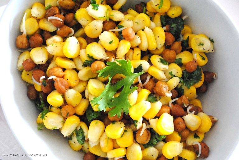 corn and channa salad 2