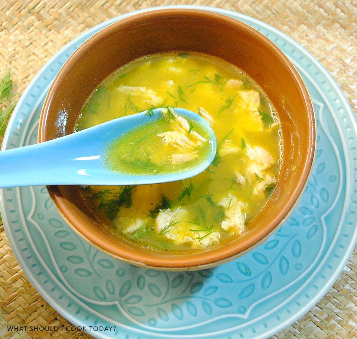 pumpkin chicken soup 3