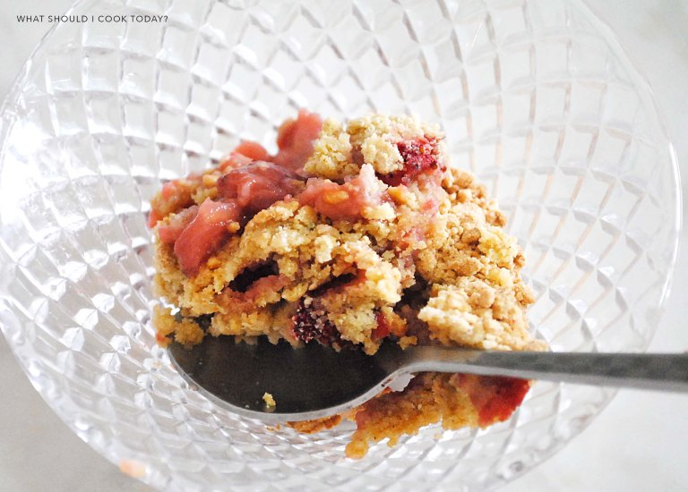strawberry crumble 5