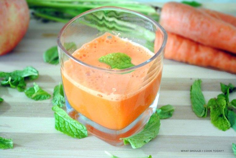 carrot apple juice 1