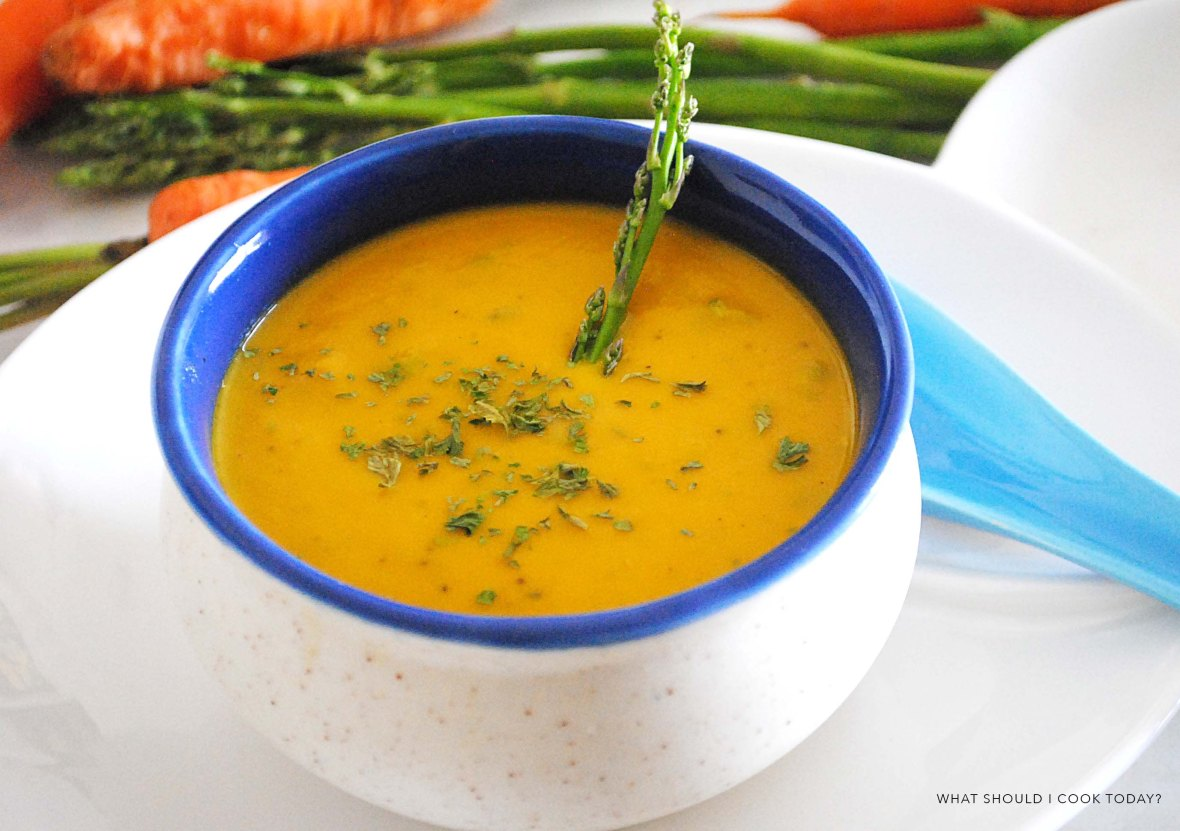 CARROT AND ASPARAGUS SOUP final 1