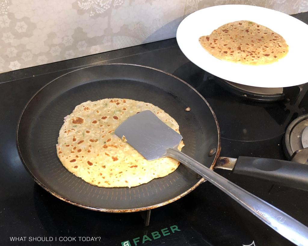 paneer and onion paratha 14